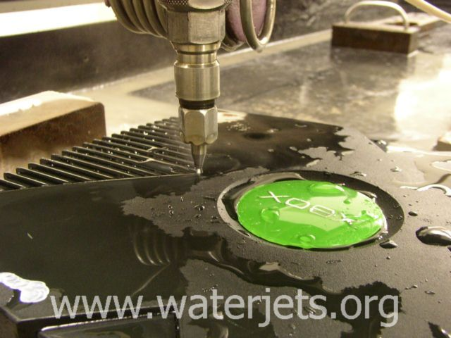 Xbox case cutting – Waterjets org