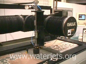 abrasive waterjets z-axis and table