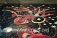 Inlaid marble venetian style conference table