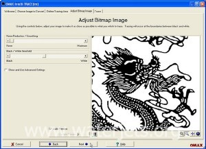 waterjet software image tracing step 3