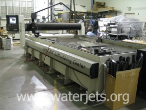 Larger waterjet machine