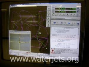 video microscope image