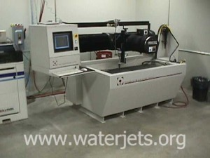 The OMAX 2652a Jetmachining center.