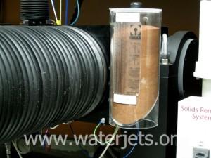 waterjet mini hopper for abrasive feeding