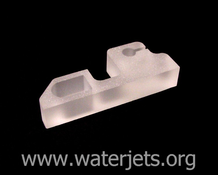 Cutting glass – Waterjets org