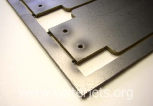 "waterjet parts with ""tabbing"""