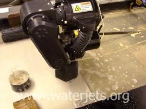5 axis waterjet cutting head (tilt-a-jet)