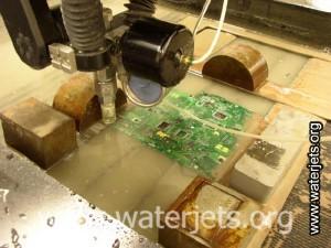 waterjet circuit board cutting